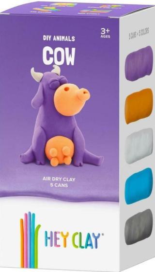 Hey Clay Kreativní modelovací sada - Kráva [HRAČKA]
